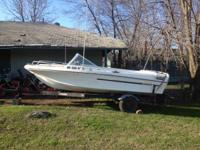 16 FT  Winner with lots of extra's. Has fish locator,
