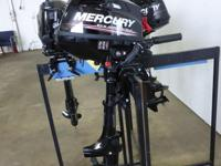 Mercury 3.5 HP 4 Stroke Outboard Engine, Carbureted