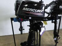Mercury 5 HP 4 Stroke Outboard Engine, Carbureted