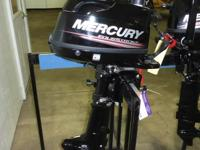 Mercury 6 HP 4 Stroke Outboard Engine, Carbureted