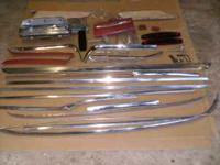Mercury Comet trim parts 1962 Lots of body chrome and