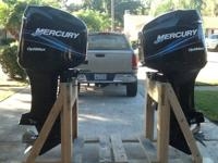 I HAVE A PAIR OF 2005 MERCURY 225 OPTIMAX. THEY HAVE