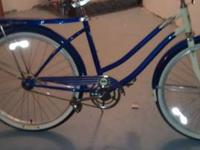 excellent cruiser bike, very solid, built like a tank,