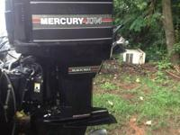 FOR SALE, MERCURY XR4 150 BLACK MAX WITH NEW STAINLESS