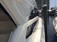 2012 441 Meridian Sedan Bridge is a original owner boat