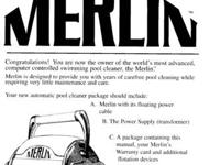 Merlin Automatic Pool Cleaner - Leslie Used only a few