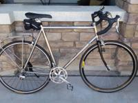 For sale is a vintage 1991 merlin titanium road bike.