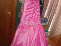 This was my prom dress from this year. This dress has