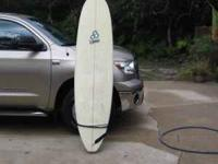 "Channel Island ,Water Hog,7'10"",tri fin, with bag and"