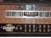 Outstanding condition mesa boogie 3channel duel
