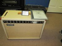 Up for sale is a great looking Mesa Boogie Rectoverb