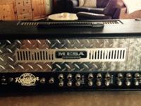 Mesa Boogie triple rectifier amp is in excellent