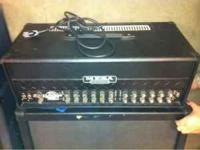 This is a used but in amazing shape mesa boogie dual