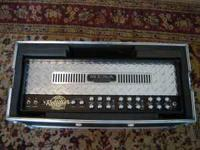 Mesa triple rectifier w/flight case and footswitch .