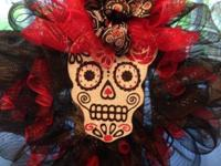 I am taking orders for Holiday wreaths for Halloween,