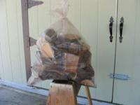 "Seasoned Mesquite cut into 5"" chunks. You get a full"