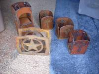 Rustic metal art work for sale lots, but your $10 Takes
