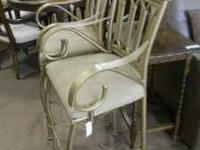 Gorgeous Metal barstools!! ONLY $59.00 EACH Call us for