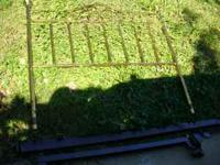 For Sale Metal Head Board and Bed Frame There are