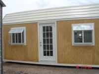 8x8-16x40 One year warranty on building rent to own