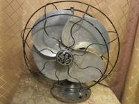 Price: $25 Description: Antique GE metal, reciprocating