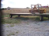 Metal Deck Wagon, 24 ft, all metal wagon, extremely