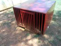 all metal 3x3x2 dog box , this is a hunting box that
