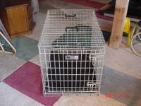 We have 2 metal dog crates that we no longer need. The