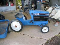 HAVE FOR SALE IN EASY RESTORABLE CONDITION AN ERTL FORD