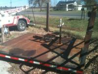 I am selling a metal flat bed that fits Ford's,
