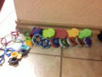 Up for sale is a big lot of BeyBlades Metal Fury