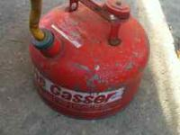 Gas Can $5.00 Please call  if interested Location: