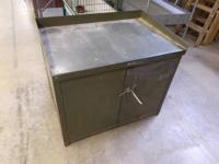 Steel commercial cabinet for your shop, workplace, or