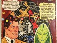 METAL MEN# 17 (1965) SILVER AGE Andru / Esposito Art