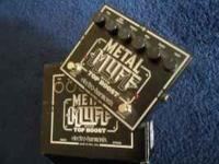 Great stomp box with overdrive boost. With box and