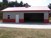 Metal Pole Barn packages available as well as Pre