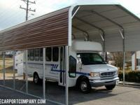 "RV Port / Cover ""LET US COVER YOUR RV!!!"" 18x28 w/ 10'"