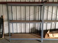 We have 3-3 shelf stands and 2-4 shelf stands for sale