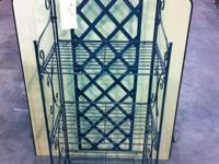 Very Nice Steel Shelving Device with attractive tile