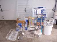 Metal space saving racks & add ons. All for $100.00,