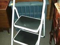 Great collapsable step stool in like new condition Call