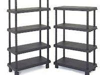 Metal storage shelves for the garage or basement 4 and