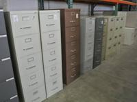 We have a ton of like new file cabinets and storage
