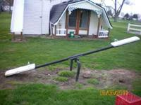 Metal teeter todder from a playground in good shape