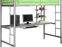 I have a loft bed over a workstation, similar to the