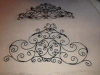FOR SALE: Beautiful Metal Wall Art Perfect for hanging