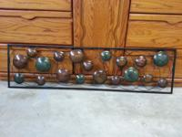 I am selling 2 types of decorative metal wall