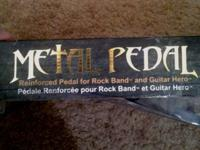 Selling a fresh condition metal pedal for rockband and