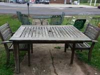 LOTS OF NEW ARRIVALS! Metal yard furnishings: chaises,
