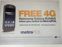 Go to Metro PCS on 23rd street and get large amounts on